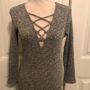 Low Sweater Dress Fits Like A Small/ Medium